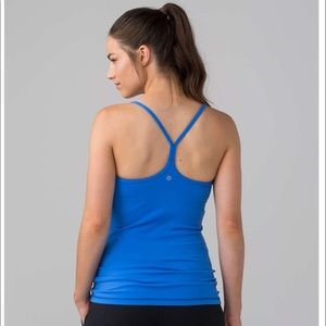 Lululemon Power Y Tank in Pipe Dream Blue Size 10